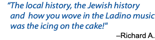 """The local history, the Jewish history